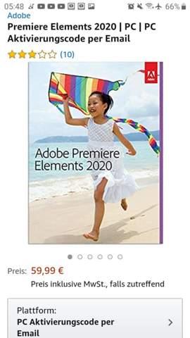 Adobe Premiere Elements ohne Abo?