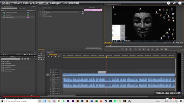 Adobe Premiere Pro Tools verschwunden?
