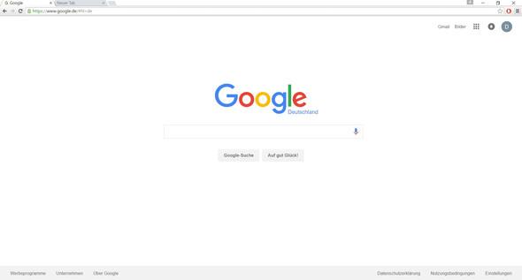 Adressleiste ist viel zu klein - (Windows 10, google-chrome, Adressleiste)
