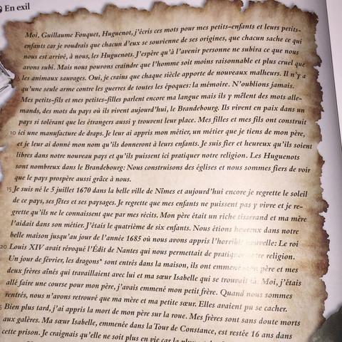 Der Text aus dem Buch - (Schule, franzoesisch, E-plus)