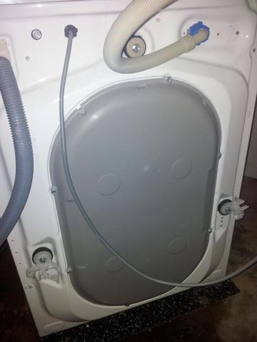 Rückseite Lavamat - (Waschmaschine, aeg, Transportsicherung)