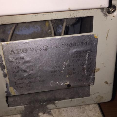 Aeg nachtspeicher Asbest?