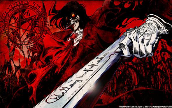 Hellsing Ultimate - Alucard - (Anime, Horror)