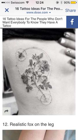 Tattoo - (Tattoo, Kreis, Motten)