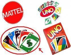 links die alte, gewünschte Version - rechts die neue (unschöne )Version - (Kartenspiel, Uno)