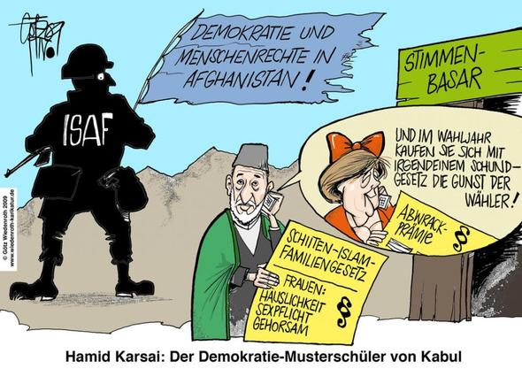 Karikatur - (Politik, merkel, Karikatur)