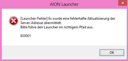 Fehler Meldung beim Start des NC Launcher aus dem Ordner - (Games, PC-Spiele, Download)