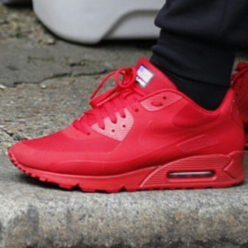 Nike Air Max Hyperfuse Red