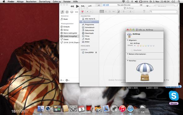 airdrop - (iPhone, Apple, Macbook)