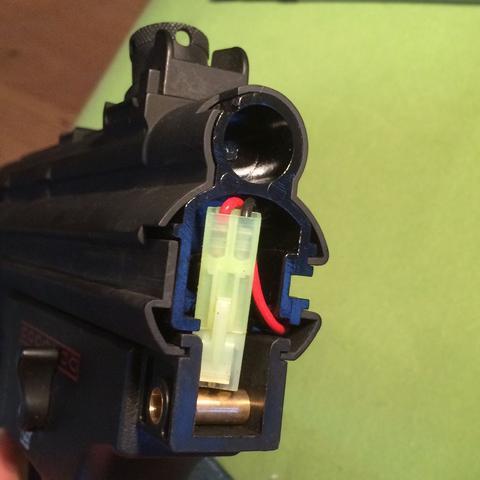 Die Mp5 von hinten - (Airsoft, montieren)