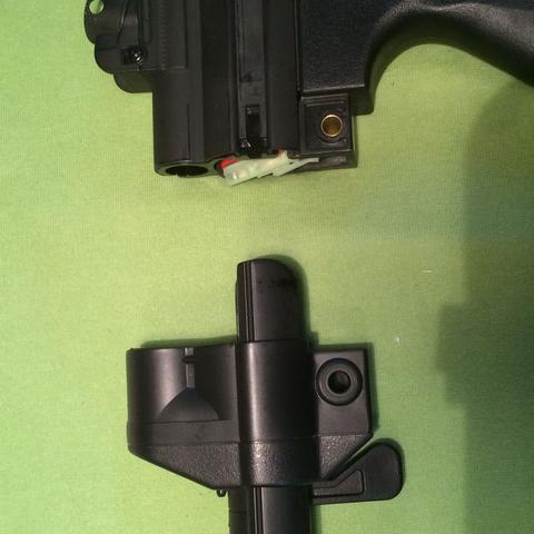 Schulterstütze und Mp5 - (Airsoft, montieren)