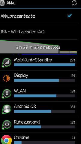 Screenshot - (Handy, Android, Akku)