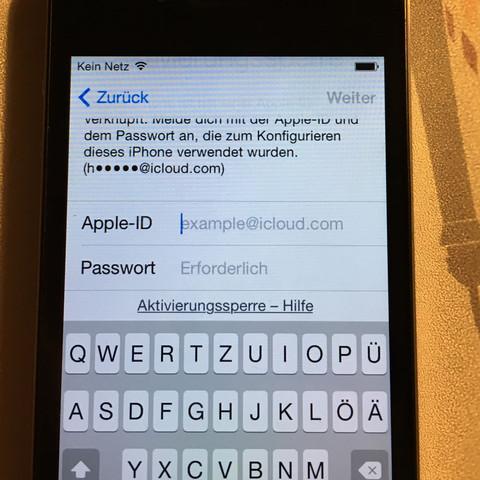 Id vom aktivieren vorbesitzer apple iphone jailbreak ohne So setzen
