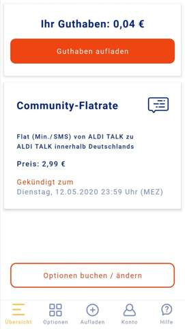 Aldi Talk Flatrate geht nicht obwohl gebucht?