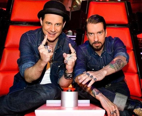 Alec und Sascha bei The Voice of Germany - (Musik, The Bosshoss)