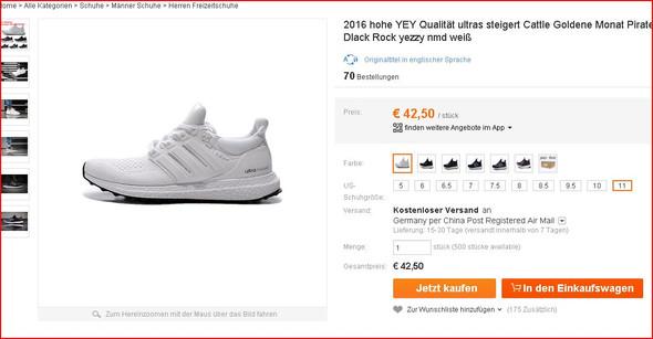 Sneaker Zoll Online Großhandel Vertriebspartner, Sneaker