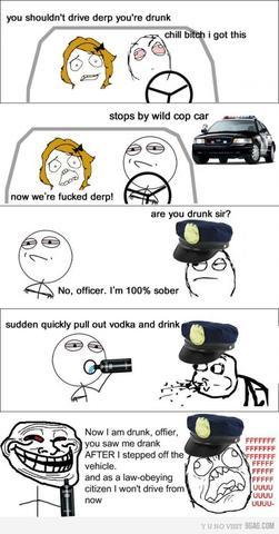 alkohol am steuer wenn polizist einen anh lt auto polizei fahren. Black Bedroom Furniture Sets. Home Design Ideas