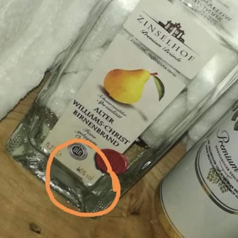 Alkohol Anteil/Wert im Getränk?