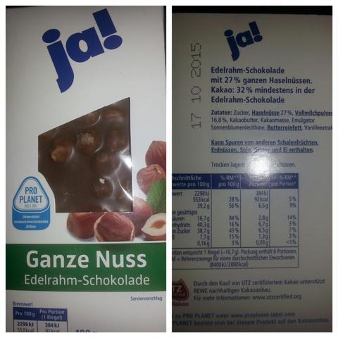 Haselnuss Schokolade - (Allergie, Haselnuss)