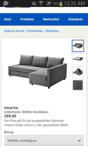 Friheten Bezug allgemeine frage zu eckbettsofas bett sofa