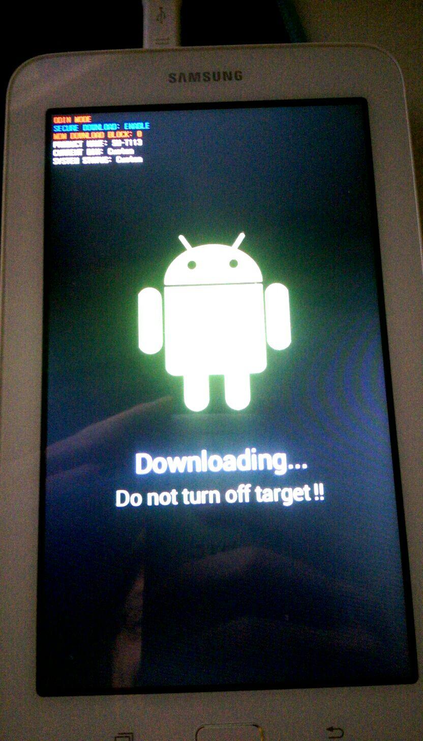 Samsung Tab Zurücksetzen
