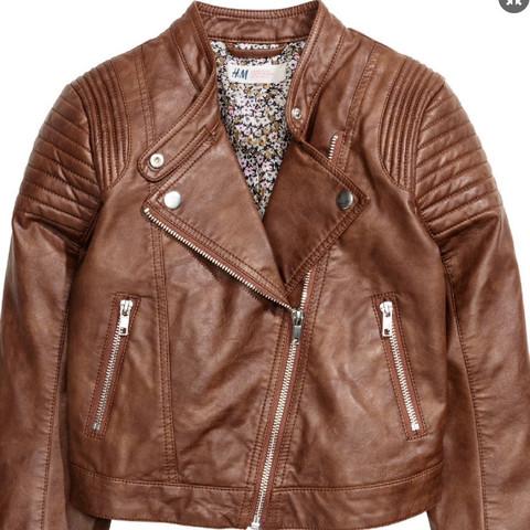 Diese Jacke würde ich gerne Tragen  - (Mädchen, Kleidung, Lederjacke)