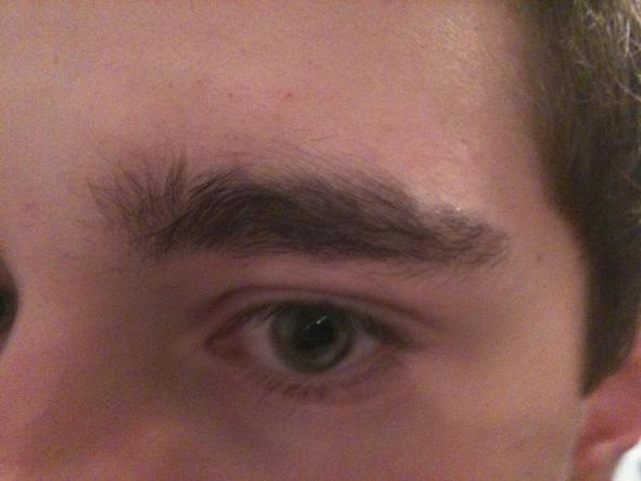 Augenbrauen männer