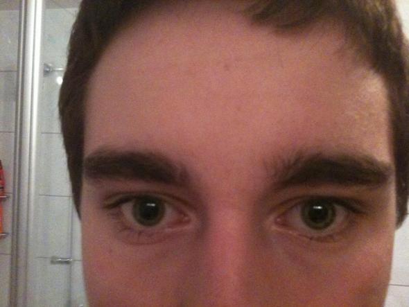 Obere Gesichtshälfte - (Haare, Männer, Kosmetik)