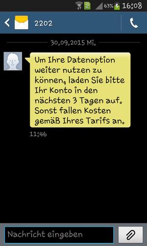 SMS - (SMS, komisch)