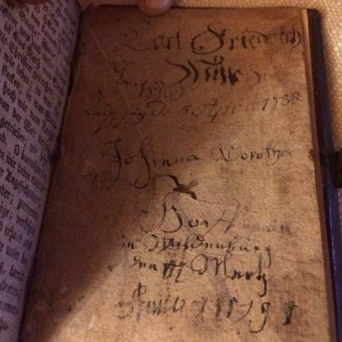 Altdeutsche Schrift (1788) - (deutsch, Schrift, schriftzeichen)