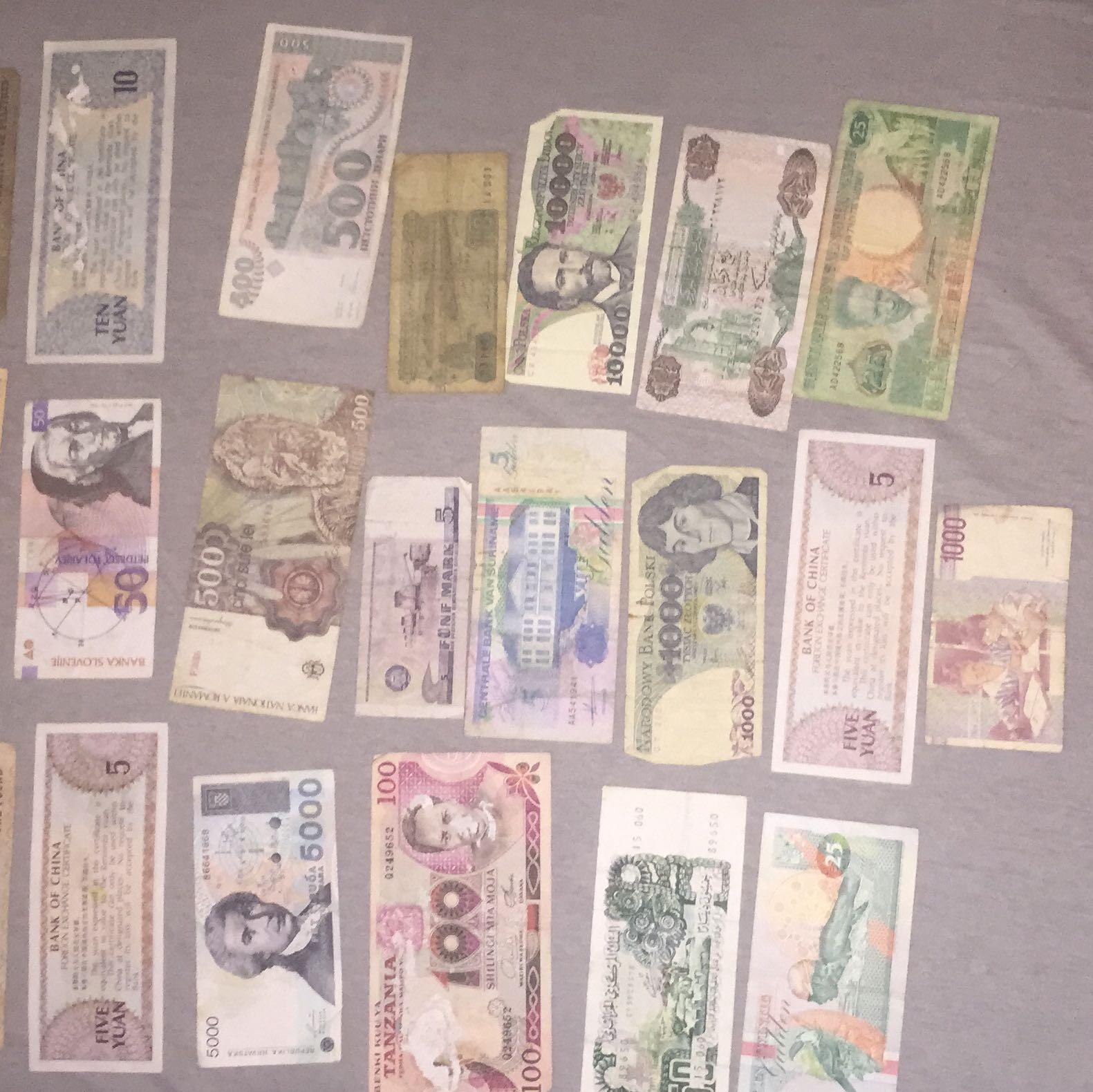 alte ausl ndische banknoten in euro umtauschen geld. Black Bedroom Furniture Sets. Home Design Ideas