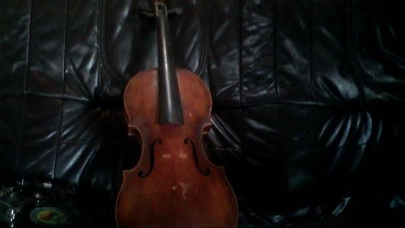 Vorder - (Instrument, Geige, Antiquitäten)
