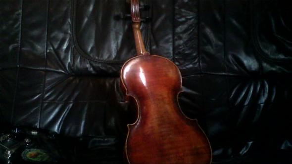 Rück - (Instrument, Geige, Antiquitäten)