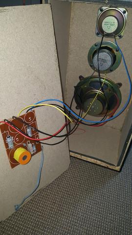 Lautsprecher offen von hinten - (Computer, Musik, Technik)