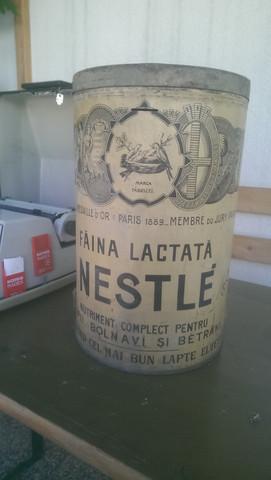 Nestle - (Freizeit, Food, Blechdose)