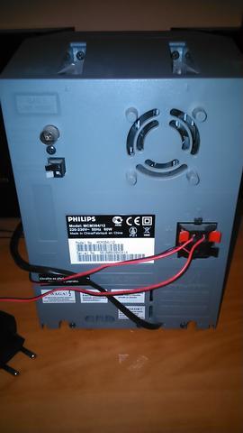 Anlage von hinten - (Computer, Kabel, Anlage)