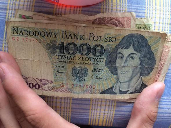 1000er Schein - (Euro, Polen, Währung)