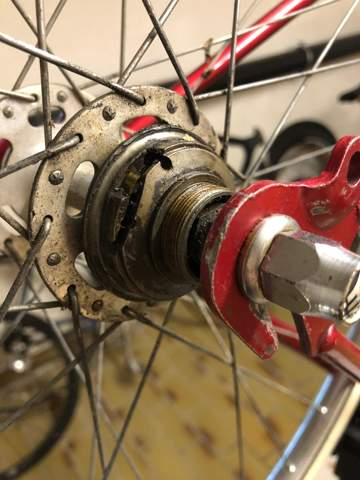 Alte Rennrad Nabe umbauen auf Singlespeed?
