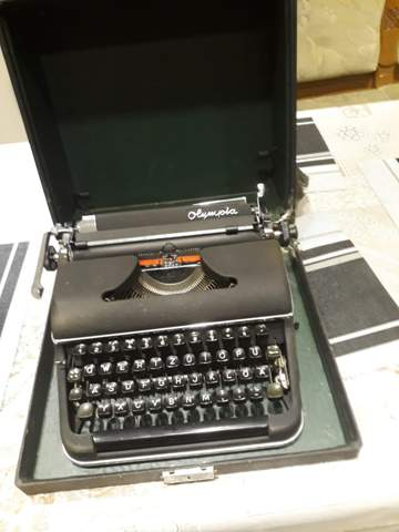 Alte Schreibmaschine was wert?
