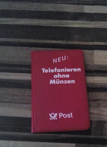 Von vorne - (Telefon, Telekom, sammeln)