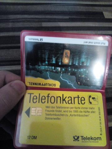 Zwei identische Karten - (Telefon, Telekom, sammeln)