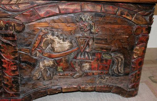 Vorderansicht - (Antiquitäten, alte Möbel)