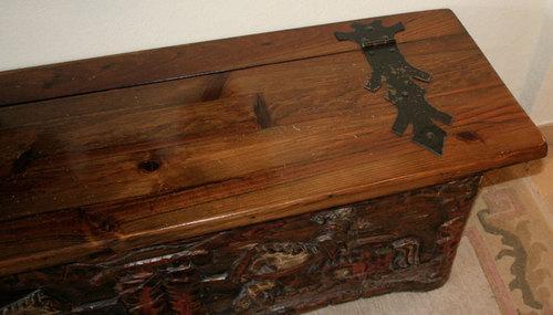 Deckel - (Antiquitäten, alte Möbel)