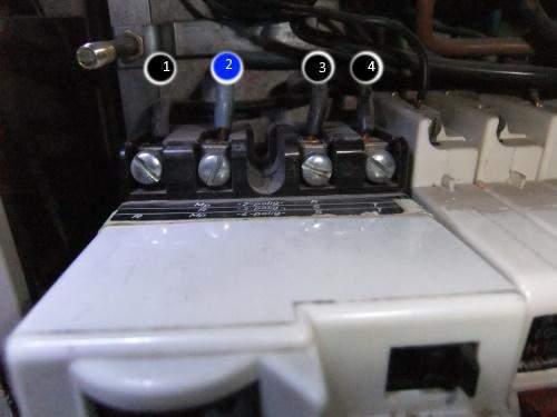 Alten, defekten FI-Schalter austauschen, wie ist die neue Belegung?