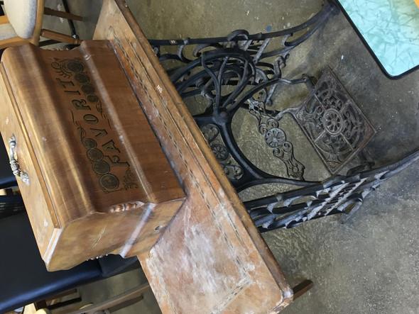 Alter Und Hersteller Der Nahmaschine Technik Technologie Antik