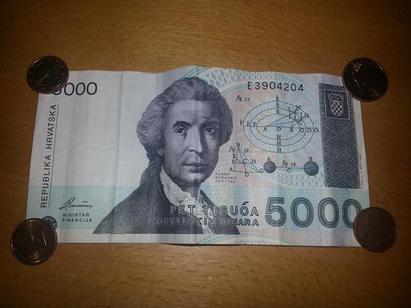 altes geld wechseln