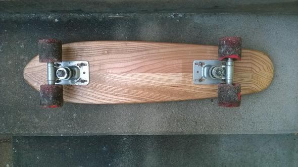 altes calypso board neue rollen skateboard skaten skate. Black Bedroom Furniture Sets. Home Design Ideas