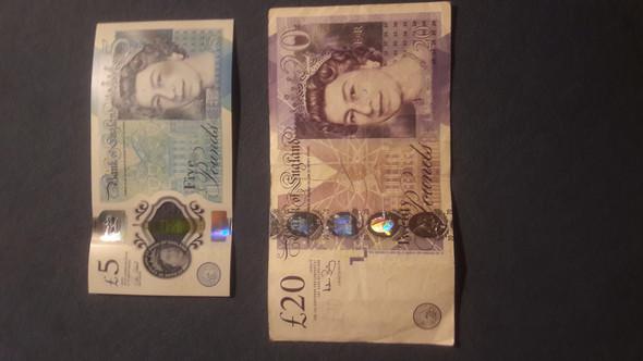 Altes Geld In England
