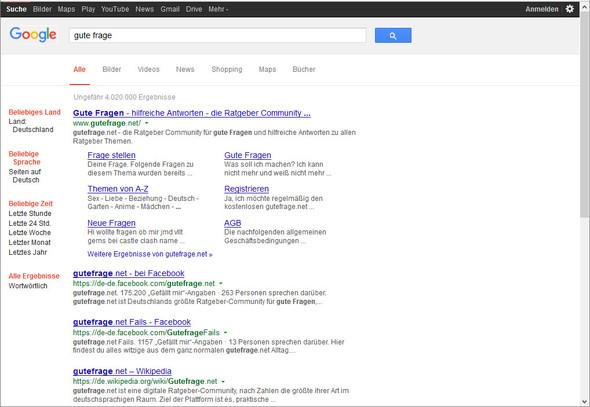 Altes Google Design wie abschalten? - (Google, Browser, Firefox)