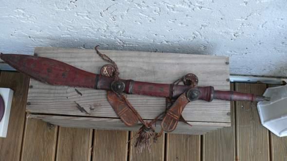 altes Schwert , Messer Afrika oder Orient?
